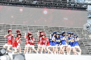 横山由依総監督「各グループの良さが出た」『第1回AKB48グループ東西対抗歌合戦』開催