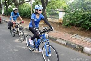 JKT48 仲川遥香が自転車で800キロ走破に挑戦!「何か1つでもインドネシアに残したい」