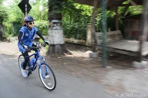 JKT48・仲川遥香、自転車で800キロ走破!「挑戦できて良かった」