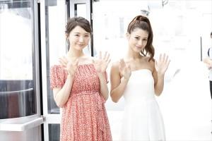 ダレノガレ明美「彼氏と一緒に来て、愛を深めたい」おのののかと高さ日本一の観覧車を体験