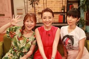 西川史子×MEGUMI×重盛さと美のトーク番組『オンナの噂研究所』が5周年