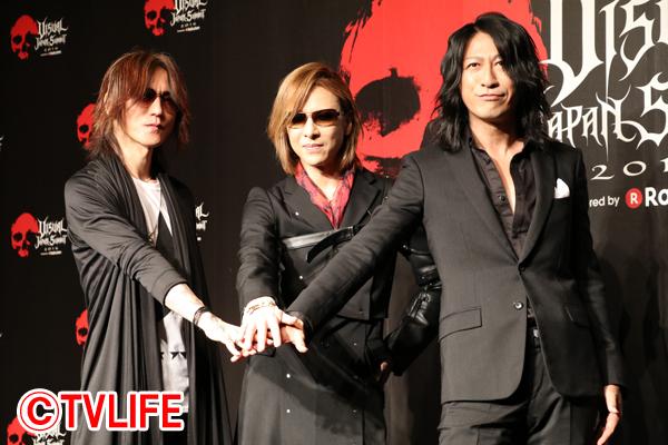 X JAPANのYOSHIKI、日本最大のヴィジュアル系音楽フェスで「素晴らしい仲間たちと世界に向かっていきたい」
