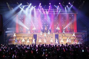 「HKT48夏のホールツアー2016~HKTがAKB48グループを離脱?国民投票コンサート~」(C)AKS