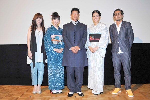駿河太郎、初主演作に自信「海外で勝負できる映画」『夢二~愛のとばしり』公開