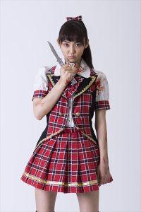 「モモニンジャー」山谷花純、初主演作で血みどろのアイドル役に (C) 2016「シンデレラゲーム」製作委員会