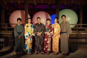 京都を舞台に早見あかり、市原隼人、佐々木希らが織り成す恋物語Amazonオリジナルドラマ「福家堂本舗」