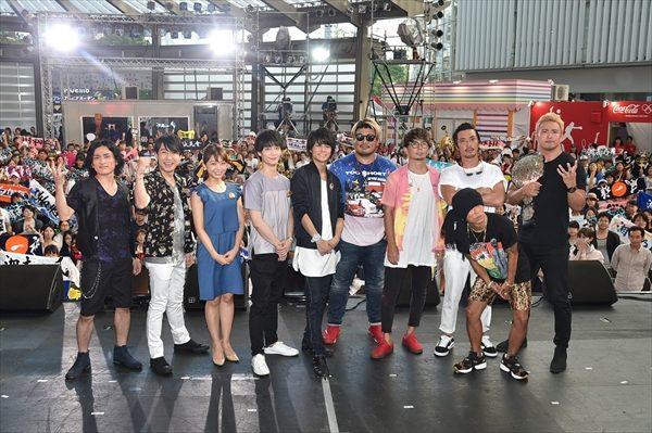 八代拓と梅原裕一郎が一緒にプロレス初観戦「お気に入りのレスラーできました」