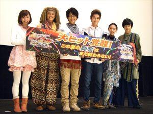 (左から)立石晴香、南羽翔平、中尾暢樹、國島直希、柳美稀、渡邉剣