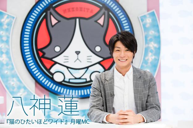 「昼休憩になるような番組にできたら」八神蓮インタビュー『猫のひたいほどワイド』月曜MC
