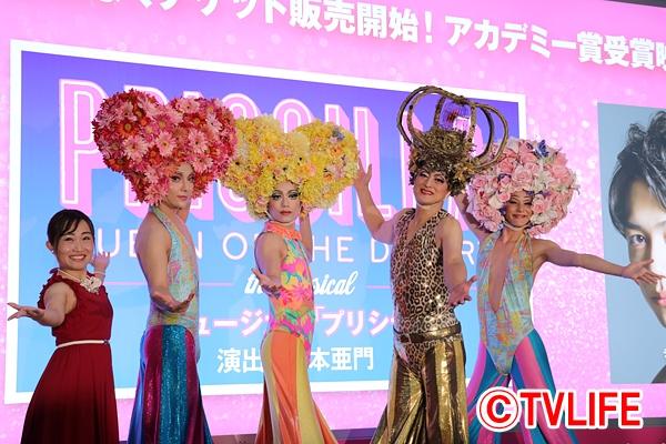 山崎育三郎、ユナク、古屋敬多、陣内孝則が衝撃の女装を初披露