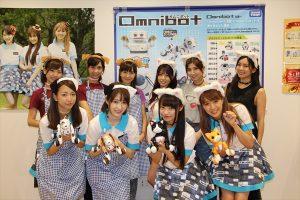 チバテレで放送中の「オムニボットの挑戦!!」の出演者による世界初(?)のロボットペットカフェ「オムニボットカフェ」を9月3日(土)に、四ツ谷と新御茶ノ水にて1日限定でオープン。