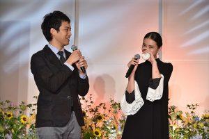 武井咲と三浦貴大