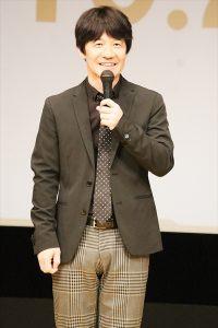 「金メダル男」完成披露試写会