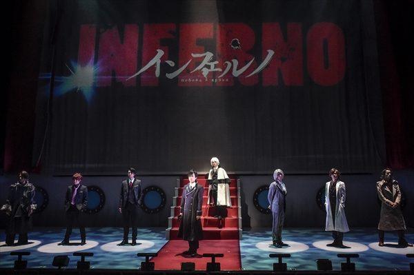 植田圭輔と平野良が父子に!近未来ノワールアクション「インフェルノ」上演中