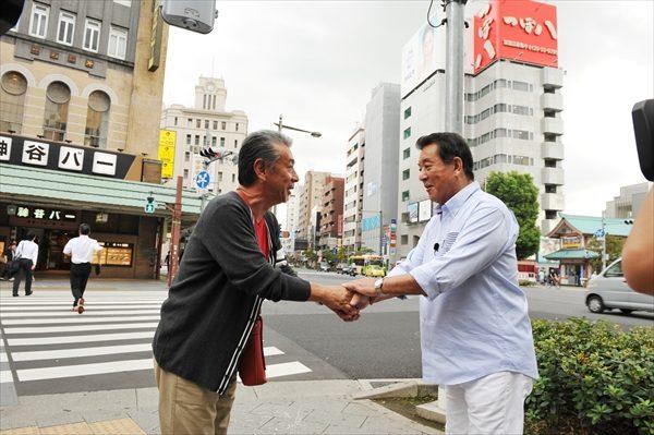 高田純次×加山雄三が初対面!テレ朝散歩番組10周年記念で実現