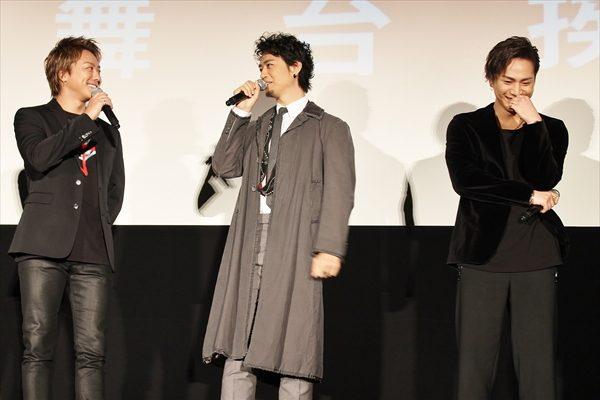 斎藤工&TAKAHIROがパンツ交換!? お兄ちゃんたちの暴走に登坂広臣もタジタジ
