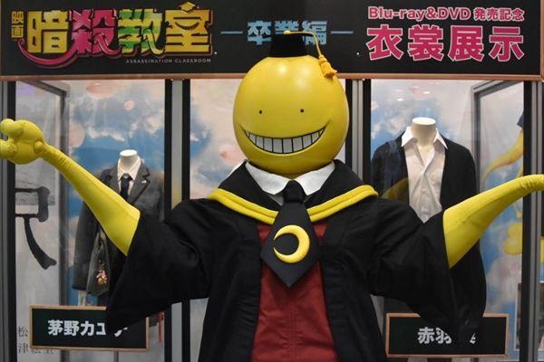 「暗殺教室~卒業編~」Blu‐ray&DVD発売記念!山田涼介や二宮和也の衣装などを4都市で展示