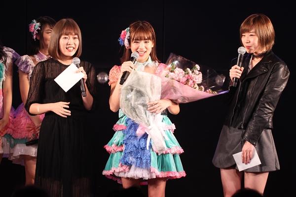 JKT48・仲川遥香がAKB48劇場に凱旋!盟友・田名部生来、多田愛佳がサプライズで卒業を祝福
