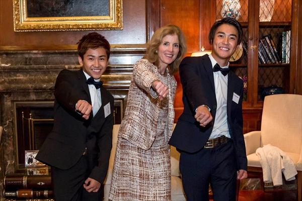 リアル・ドキュメンタリー『PROJECT TARO』メンバーがケネディ駐日米国大使を訪問