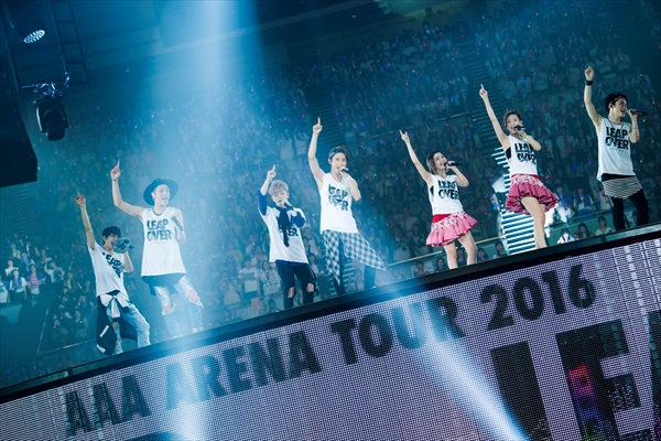 AAA 初のドーム公演を独占生配信!11・16「AAA Special Live 2016 in Dome」dTVで配信決定