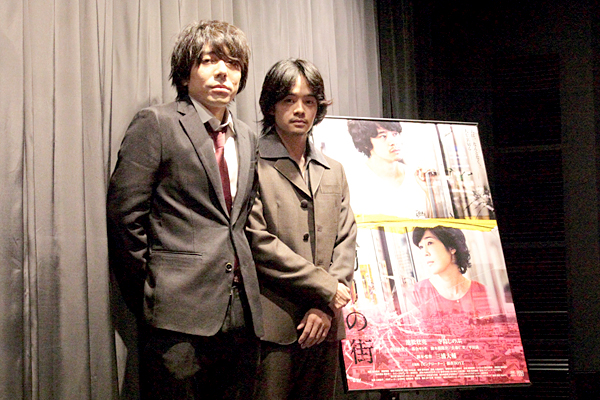 三浦大輔、池松壮亮とは「ズブズブの関係(笑)」映画『裏切りの街』舞台挨拶