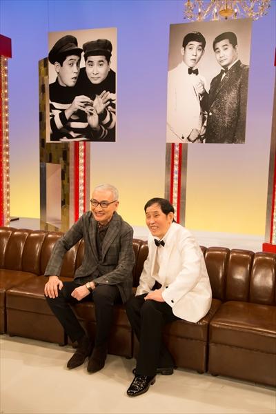 <p>萩本欽一と久米宏が32年ぶりの番組共演で坂上二郎の偉大さを語る</p>