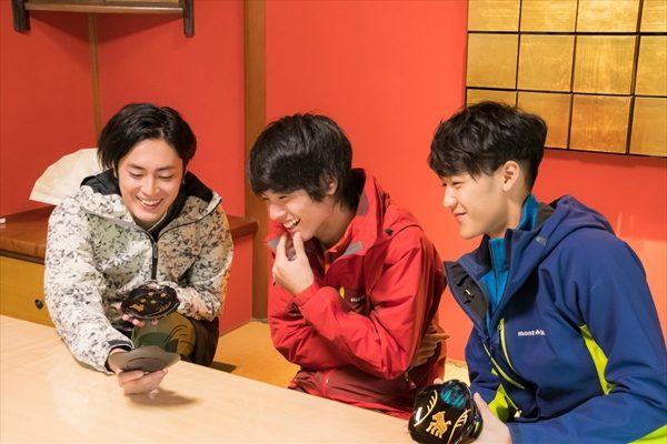 間宮祥太朗、葉山奨之、赤楚衛二が「金沢」で伝統に触れる「男子旅」