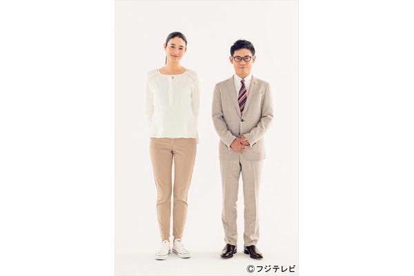 小雪がフジ連ドラ初主演!『大貧乏』で伊藤淳史と凸凹コンビ結成