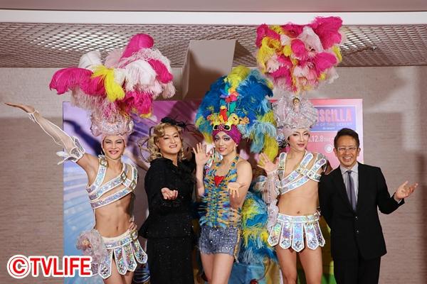 山崎育三郎、ユナク 、古屋敬多、陣内孝則が女装姿で歌い踊る「プリシラ」開幕!