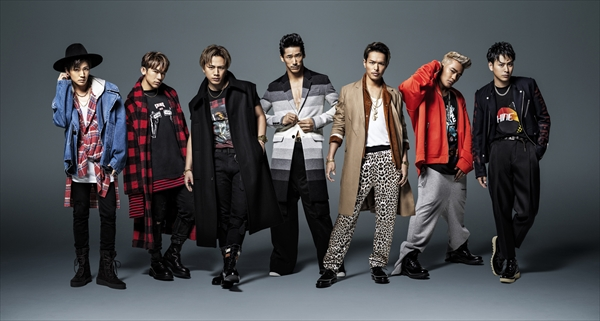 <p>三代目J Soul Brothers from EXILE TRIBE</p>