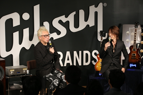 GLAY・TAKURO「ここがスタート地点」箭内道彦を迎えて1stソロアルバム発売記念イベント開催