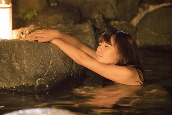 1000年に1人の童顔巨乳・スパガ浅川梨奈の入浴シーン!『咲-Saki-』第4話