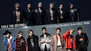 「メディア初放送!EXILE THE SECOND・三代目 JSB 豪華LIVE」