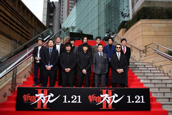 豪華キャストが集結!「ようやく始まります、行くぞ!」映画『新宿スワンⅡ』完成披露プレミアイベント