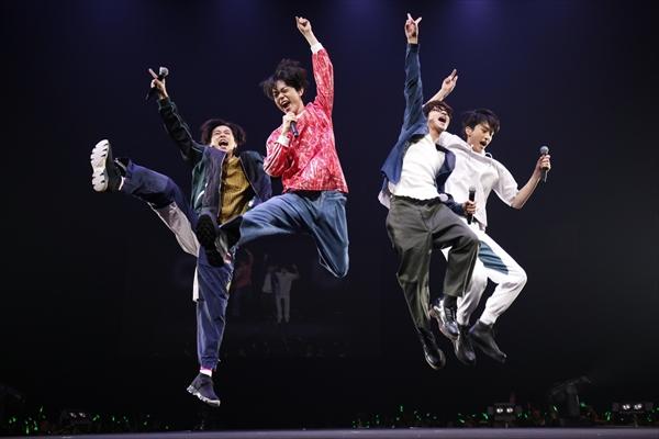 菅田将暉らグリーンボーイズ大興奮「ついつい騒ぎすぎました(笑)」、GReeeeNのライブのオープニングアクトで「キセキ」「声」披露