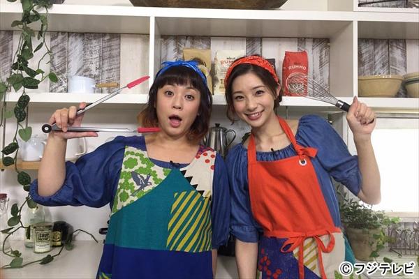佐藤仁美と足立梨花の新コンビがニッポンを食べ尽くす!『お料理BAN!BAN!』10年ぶりに復活