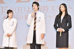 「大好きなんです!」松ケンが憧れの木村&浅野を質問攻め『A LIFE~愛しき人~』1・15スタート!
