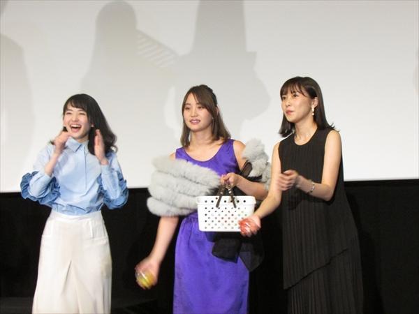 <p>浜辺美波「みんなで仲良くエゴサーチしてます」劇場版「咲-saki-」完成披露上映イベントに清澄高校麻雀部、ライバル校のメンバー大集結</p>