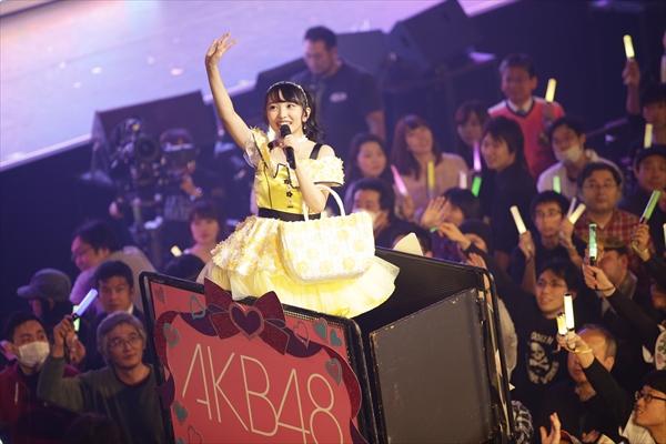 AKB48・向井地美音がソロコンサート開催「20周年までAKB48に居続けたい!」