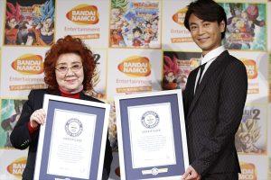 野沢雅子がギネス世界記録に認定