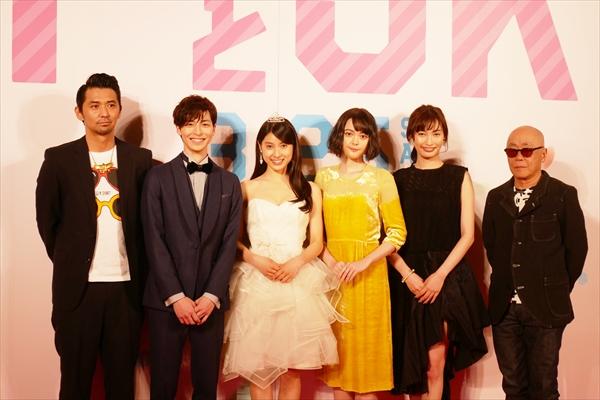 亀梨和也、初恋愛映画でセクシー封印!「セクシーが漏れ出ないように」映画「PとJK」完成披露パーティ