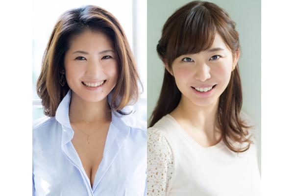 「色っぽく分かりやすく」古瀬絵理、塩地美澄がAbemaTVの新番組キャスターに就任