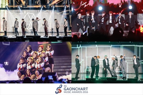 韓国のトップアーティストが集結!「GAON」授賞式が2・22に生中継!