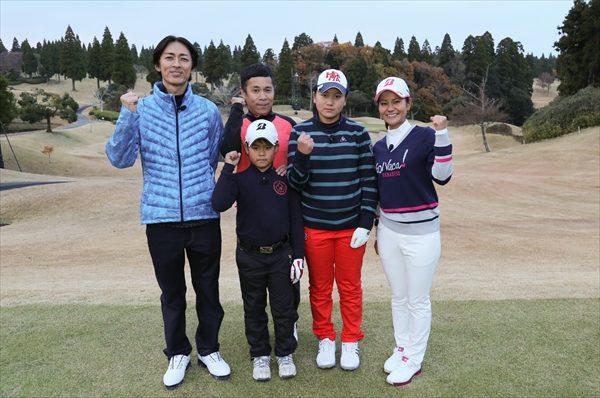 宮里藍が『スポーツ大将』に参戦!ナイナイ岡村とのタッグで天才ゴルフ姉弟と対決