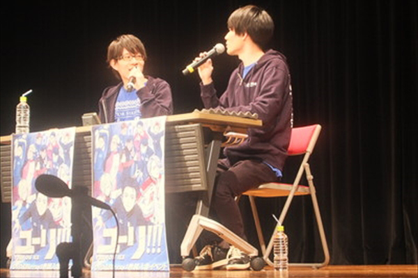 豊永利行&内山昂輝が双子コーデで登場「ユーリ!!! on RADIO 出張版」開催