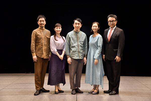 三谷幸喜「ホームグラウンドに戻ってきた」作・演出舞台『不信~彼女が嘘をつく理由』開幕