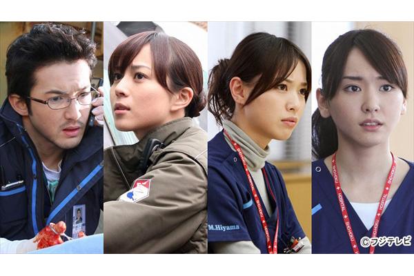 山下智久、新垣結衣、戸田恵梨香らが再集結『コード・ブルー』7月放送決定