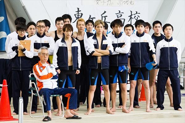 3・11最終回!ドラマ「男水!」の場面写真を公開