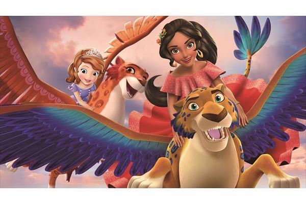 「アバローのプリンセス エレナ」ソフィアとエレナの特別エピソード ディズニーchで3・18日本初放送