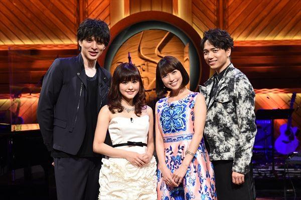 日本のミュージカルスターの山崎育三郎、城田優、新妻聖子、昆夏美が一夜限りの豪華共演!